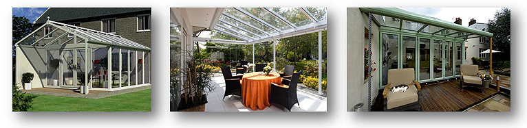 Options for Lean to conservatory designs